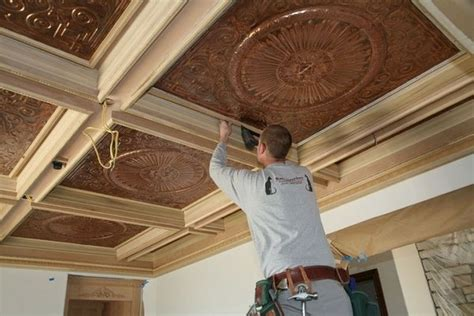 How To Build A Suspended Ceiling by Advantages And Disadvantages Of Coffered Ceilings