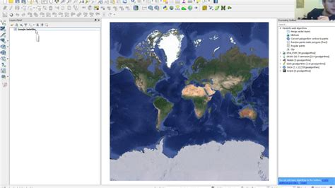 qgis software tutorial qgis tutorial getting google satellite background into qgis