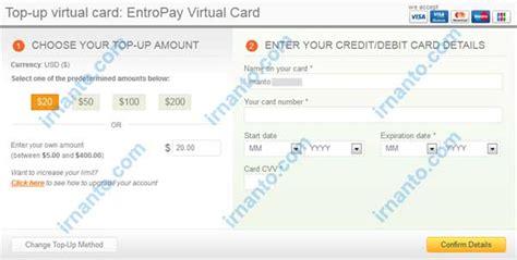 membuat visa gratis membuat vcc gratis di entropay irnanto com