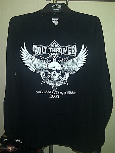 bolt thrower maryland deathfest 2009 tshirtslayer