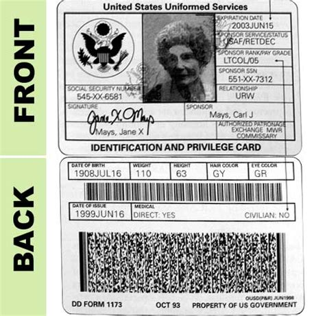 Retired Id Card Template by Medically Retired Id Card