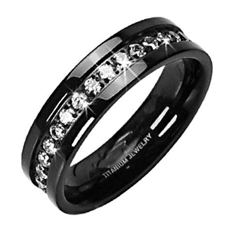 womens titanium wedding bands wedding and bridal inspiration