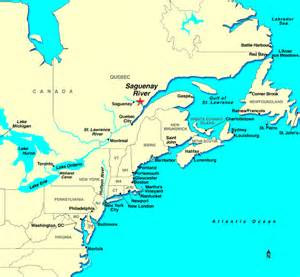 map of st river canada saguenay river discount cruises last minute cruises