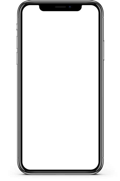 Iphone X Screen Mockup transparent PNG - StickPNG   การ