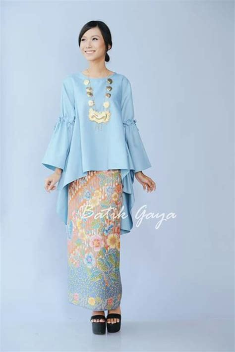 Ifena Ribbon Dress Atasan Blouse Baju Batik Fashion Wanita 155 best images about modern kurung on