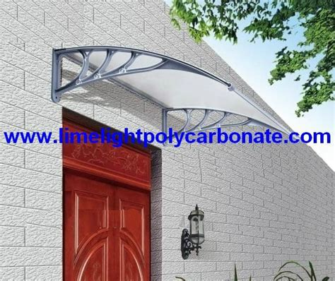 Diy Polycarbonate Awning by Awning Canopy Shelter Diy Awning Window Awning Door Canopy