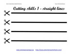 free cutting practice coloring pages