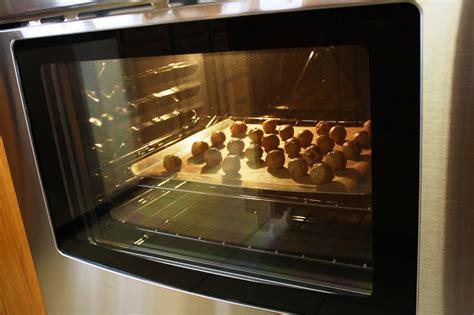 Oven Cookies peanut butter cookie dough balls saving room for dessert