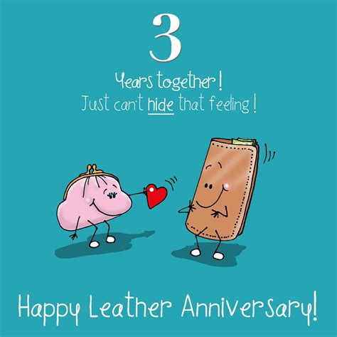 3rd anniversary images 3rd anniversary greetings card happy leather anniversary ebay