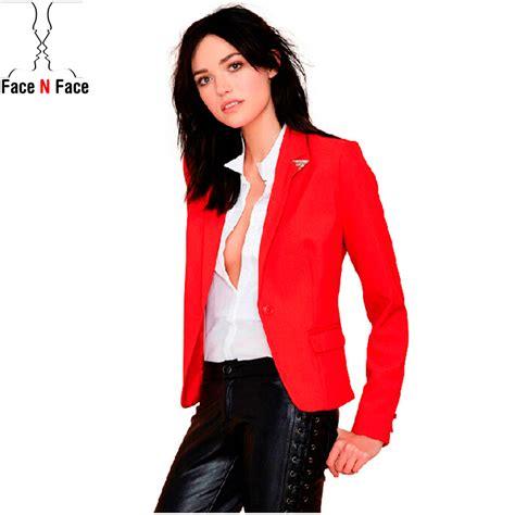 jacket design for ladies suit women blazer feminino casual coat brand clothing 2015