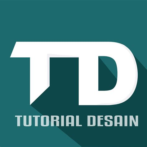 tutorial desain logo dengan coreldraw tutorial coreldraw membuat logo dari huruf td dengan