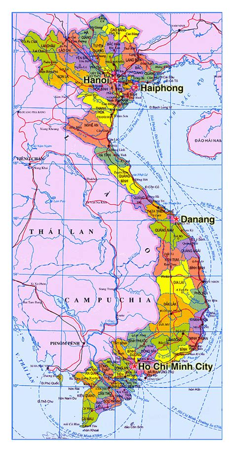printable vietnam road map 15 fascinating facts about the vietnam map