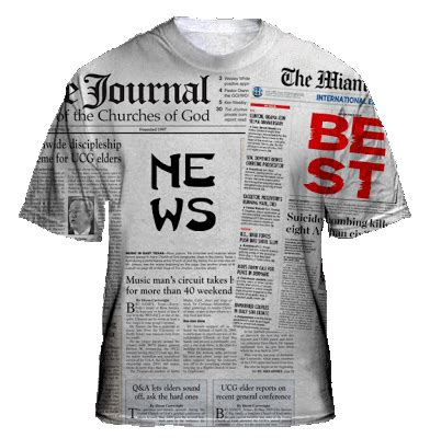 Kenward Company 80 S Casuals Kaos newspapers shirt collections t shirts design