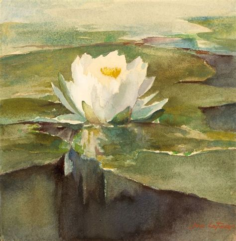Painting 049 Sle Paper by 1000 Ideas About Water Lilies Painting On