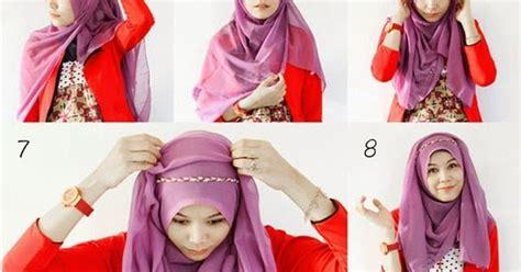 Model Segi Empat Terbaru 2016 cara memakai jilbab segi empat tutorial terbaru 2016