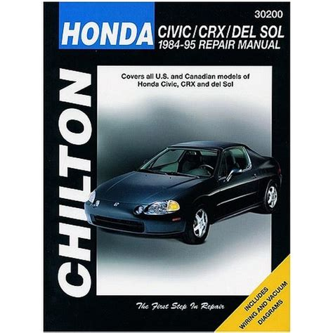 chilton car manuals free download 1994 honda civic transmission control service manual 1984 honda cr x owners manual transmition drain and refiil honda civic crx