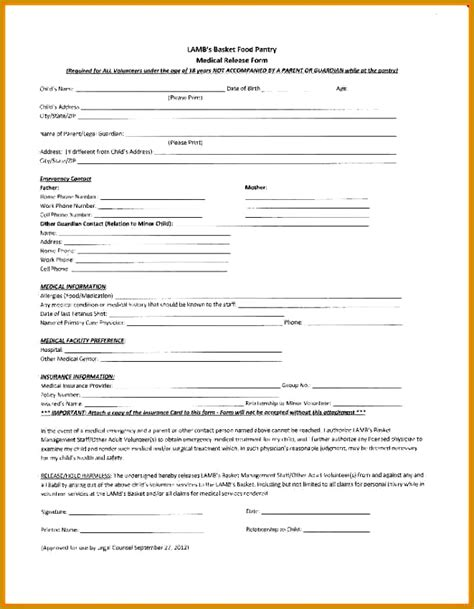 privacy release form template 3 privacy release form template fabtemplatez
