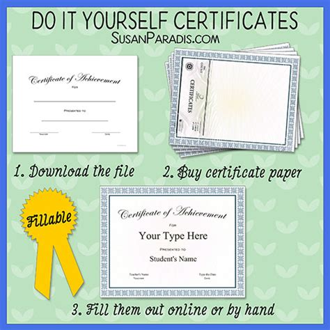 Templates For Ready Made Certificate Paper Susan Paradis Piano Teaching Resourcessusan Paradis Ready Made Templates Free