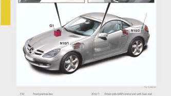 on board electrical system components r171 slk class