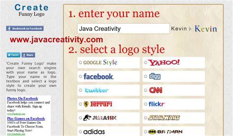 membuat nama brand create funny logo cara mudah membuat logo seperti brand