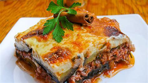cucina cretese la ricetta della moussaka