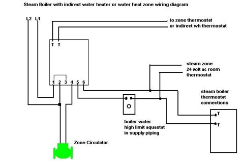 how to wire a steam boiler zoneheatingwithcondensate steamheating