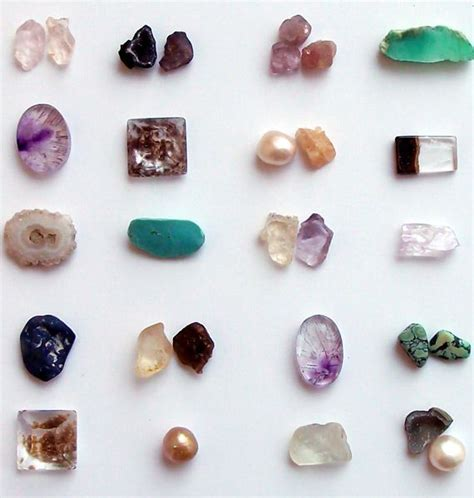 an organized collection of pretty stones midwest alchemy
