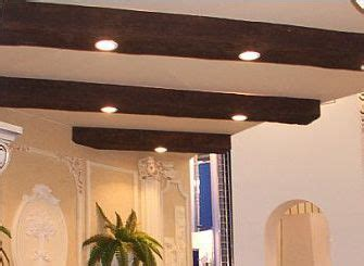 faux wood beams with recessed lighting think i am gonna