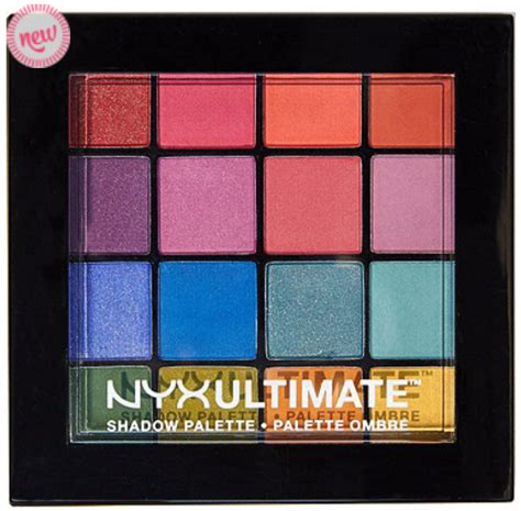 Nyx Ultimate Shadow Palette new nyx ultimate shadow palettes compare to viseart