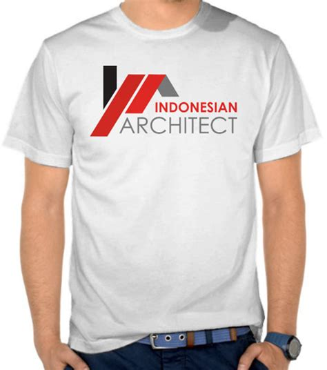 Kaos Indonesia Custom desain jual kaos architect arsitek print anak redmango custom ciptaloka desain inspirasi