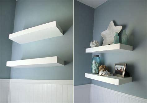 simple floating shelves diy simple floating shelf usefuldiy