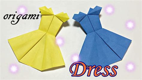 Does An Mba Make Getting Easier by How To Make Paper Dress Easy But Cool Origami Tutorial