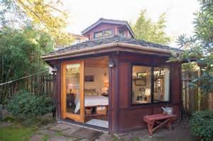 micro cabins yurt like micro cabin studio vacation in portland oregon