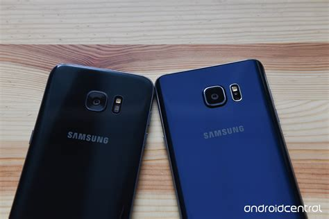 Samsung S7 Note Edge samsung galaxy s7 edge versus galaxy note 5 android central