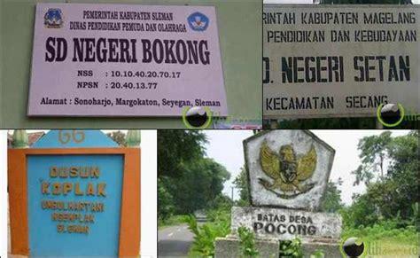 film pocong terlucu 8 nama sekolah dan desa terlucu di indonesia mata