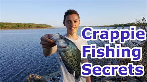 crappie fishing tips secrets  techniques