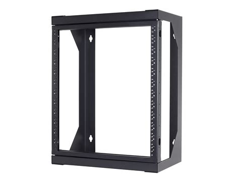 swing out wall mount rack networx 18u open frame swing out wall mount rack 201