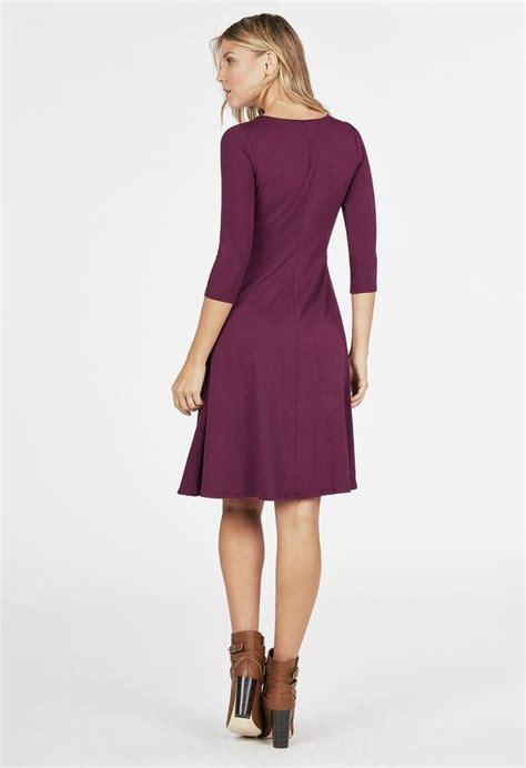 swing kleider berlin swing knit dress kleidung in boysenberry g 252 nstig kaufen