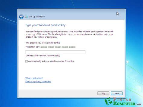 tutorial instal ulang pc windows 7 panduan lengkap instal ulang windows 7 computer atau