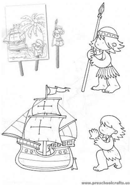 columbus day coloring pages for kindergarten christopher columbus day coloring pages for kindergarten
