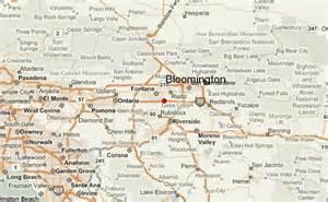 bloomington california location guide