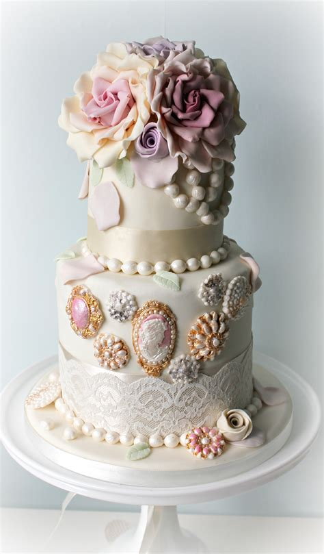 Wedding Cake Jewels by Bejeweled Wedding Cakes