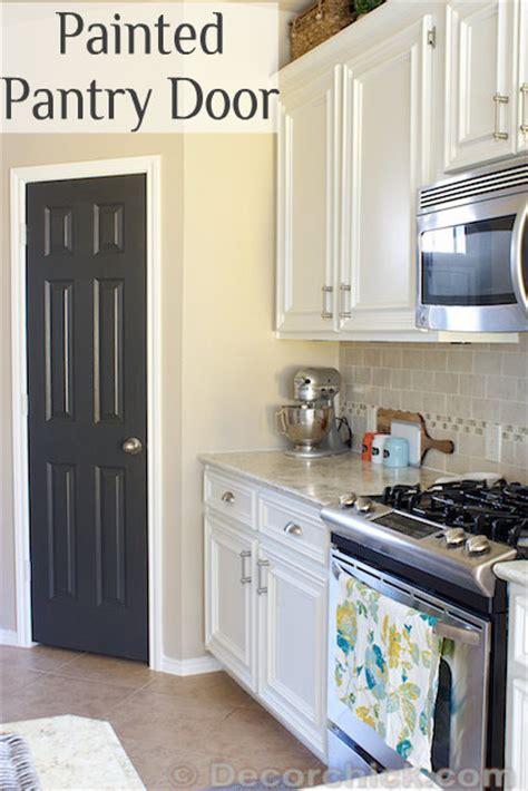 Painted Pantry Door by Painted Pantry Door Easy Diy Project Door Color Iron