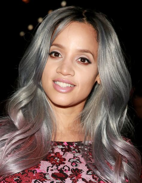 gray hair color for latina women 17 tips for getting dascha polanco s pink hair color