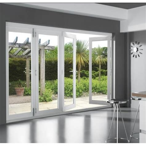 white patio doors 46 supreme external white finished folding sliding patio