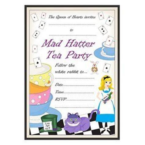 mad hatter tea invitation template free pin by ideas uk on mad hatters tea ideas