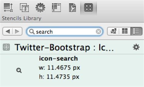 bootstrap pattern library omnigraffle stencils and templates galore
