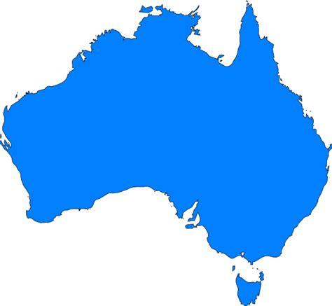 design art australia online australia map outline clipart best