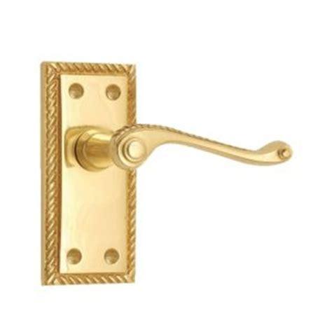 B Q Wardrobe Door Handles b q value polished brass effect scroll lever