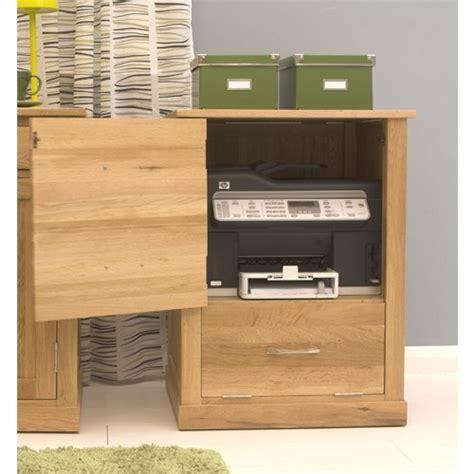 Mobel Oak Printer Cabinet